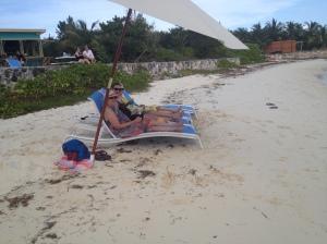 Girl time at Sands Beach Bar