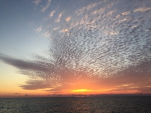 Our last Bahamian sunset.