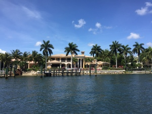 A modest house along the ICW